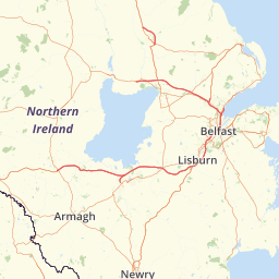 Map Of Ireland Knock Airport.Distance From Knock Northern Ireland To Enniskillen Airport
